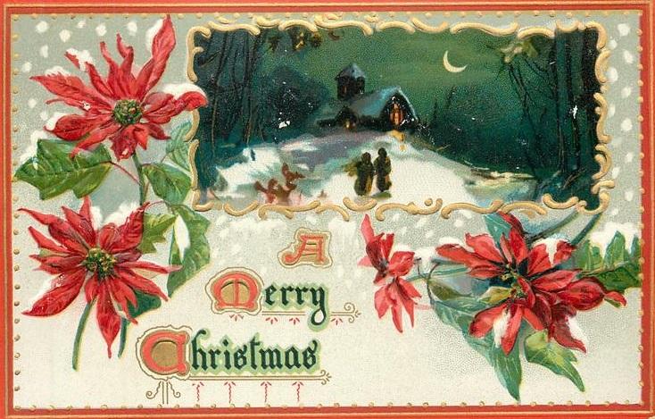 Поздравление 1 Christmes-PostCards Christmas